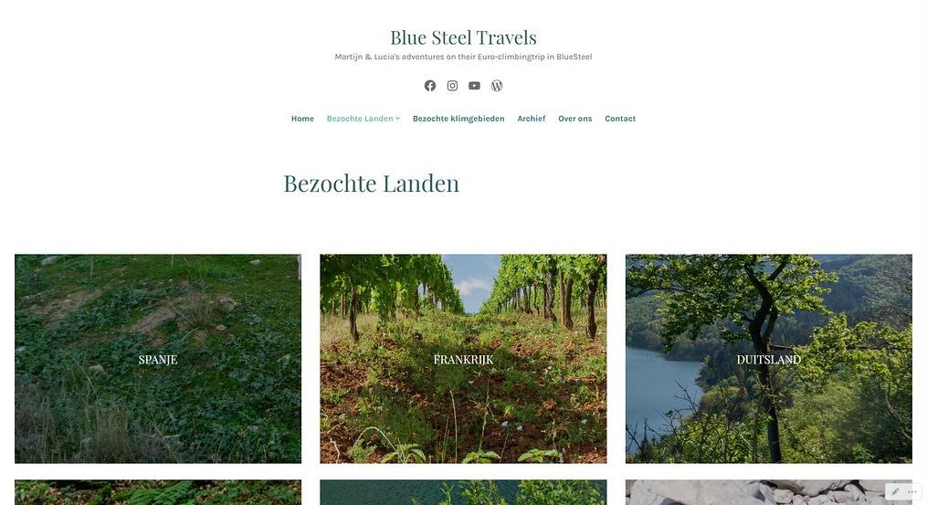 Homepage of www.bluesteeltravels.com