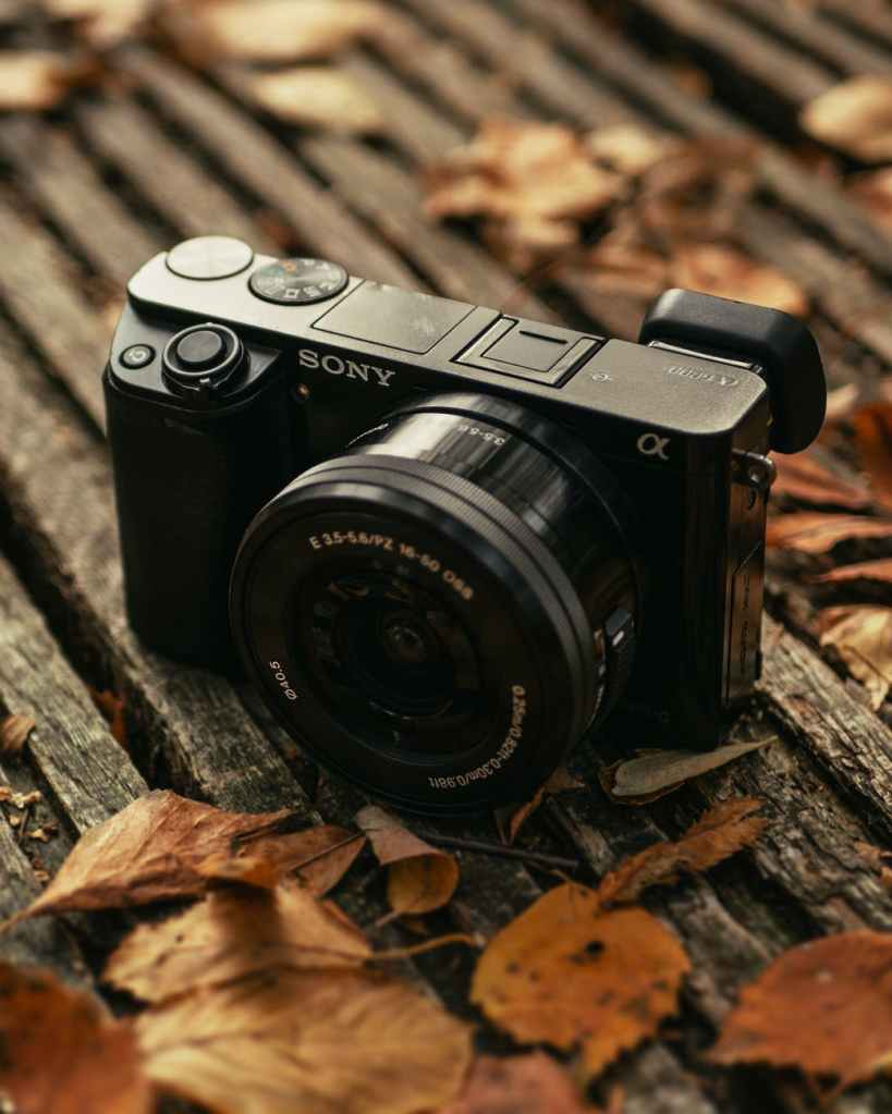 Sony A6000 digital camera. New camera instead of Pentacon six TL analog camera.